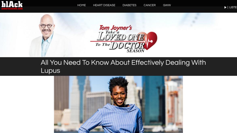 The Tom Joyner Morning Show | Lupus Awareness Month Kickoff